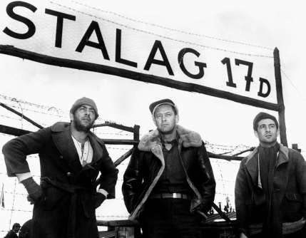 STALAG 17, Robert Strauss, William Holden, Harvey Lembeck, 1953