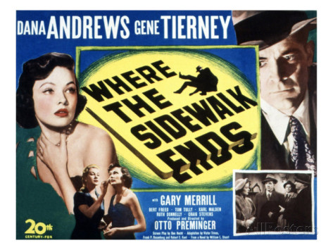 where-the-sidewalk-ends-gene-tierney-dana-andrews-1950