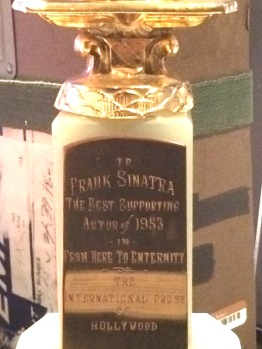 Sinatra's Golden Globe for Best Supporting Actor for From Here to Eternity