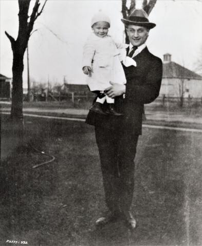 William Beedle Jr. with his father